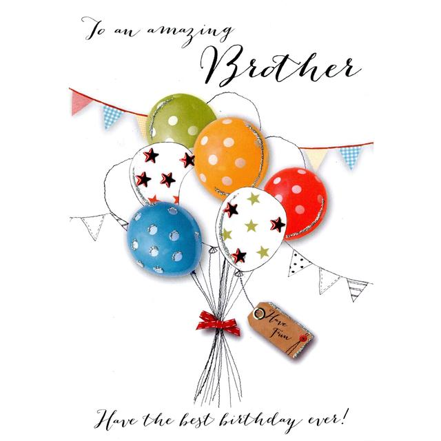 Cool Brother Birthday Card Ocado Personalised Birthday Cards Paralily Jamesorg