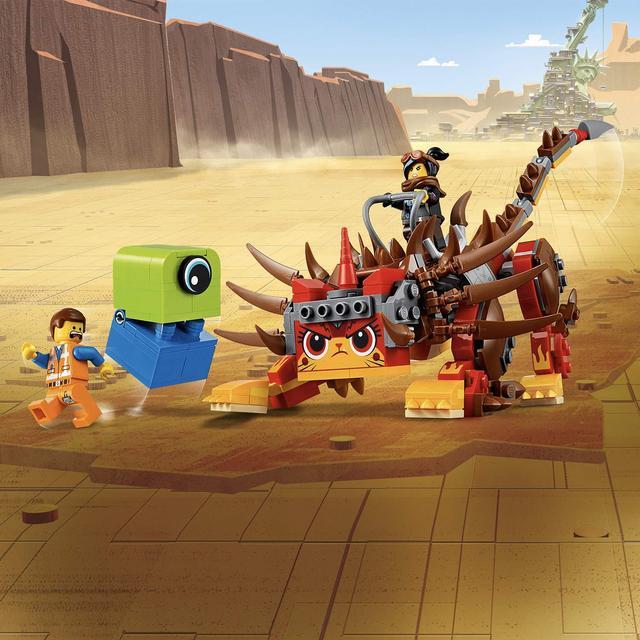 Lego Movie 2 Ultrakatty Warrior Lucy 70827 From Ocado