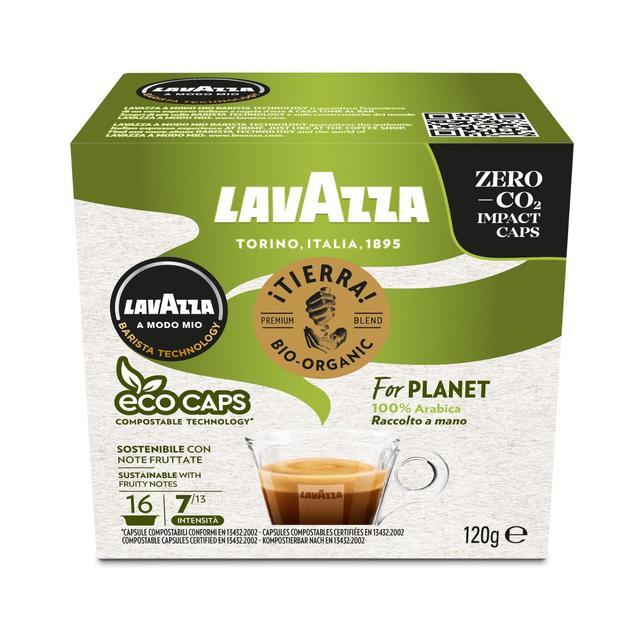 Lavazza A Modo Mio Tierra Organic Coffee Capsules Ocado