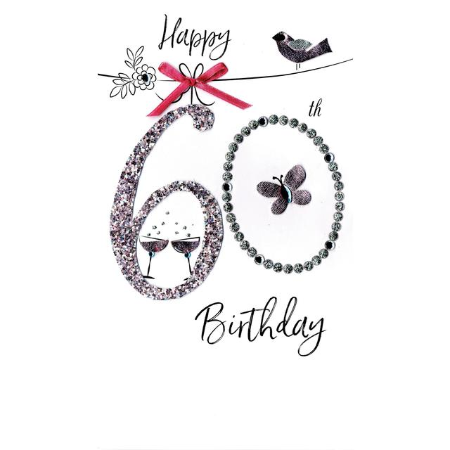 Womens 60th Birthday Card From Ocado