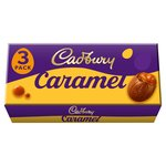 Cadbury Caramel Chocolate Easter Eggs 3 Pack