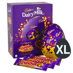 Cadbury Dairy Milk Crunchie Giant Chocolate Easter Egg