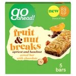 Go Ahead! Fruit & Nut Breaks Apricot Bar