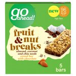 Go Ahead! Fruit & Nut Breaks Coconut Bar