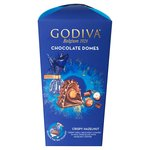 Godiva Domes Milk Chocolate & Hazelnut