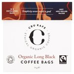 CRU Kafe Organic Fairtrade Long Black Coffee Bags