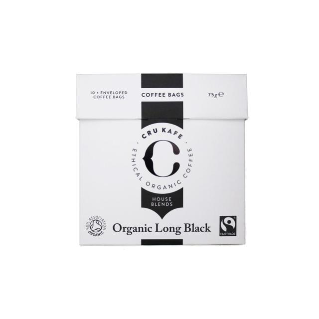 Cru Kafe Organic Fairtrade Long Black Coffee Bags Ocado
