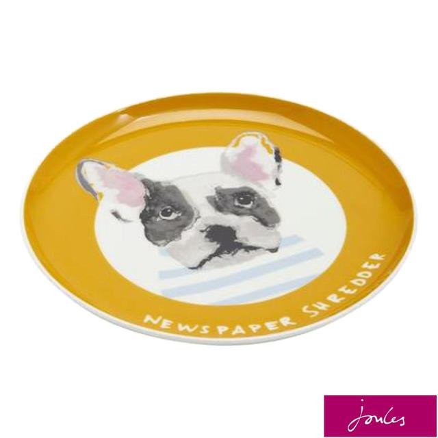 Joules Side Plate, Gold Dog