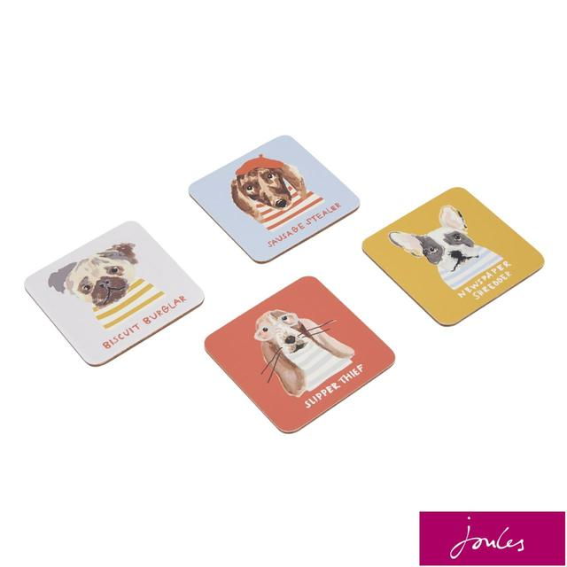 Joules Coasters, Gold Dogs