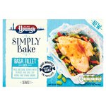 Young's Simply Bake Basa with Miso Dressing