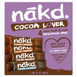 Nakd Cocoa Lovers Mixed Multipack