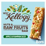 Kellogg's WK Kellogg Raw Fruits, Nuts & Oats Bars, Apple & Pumpkin Seed