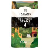 Taylors Rich Italian Coffee Beans