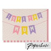 Paperchase Love You Mum Card