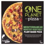 One Planet Pizza Vegan Mediterranean Roasted Vegetable Pizza