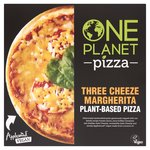 One Planet Pizza Vegan Three Sheese Margherita Pizza