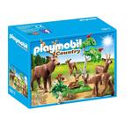 Playmobil 6817 Stag with Deer Family