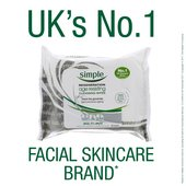 Simple Regeneration Age Resisting Cleansing Wipes