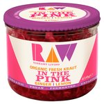 Raw Organic Fresh Kraut In the Pink Lemon & Ginger
