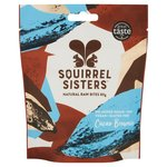 Squirrel Sisters Cacao Brownie Natural Raw Bites Sharing Bag