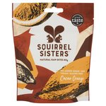 Squirrel Sisters Cacao Orange Natural Raw Bites Sharing Bag