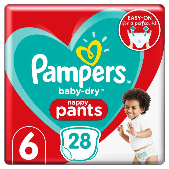 Pampers Baby Dry Pants Essential Pack Size 6