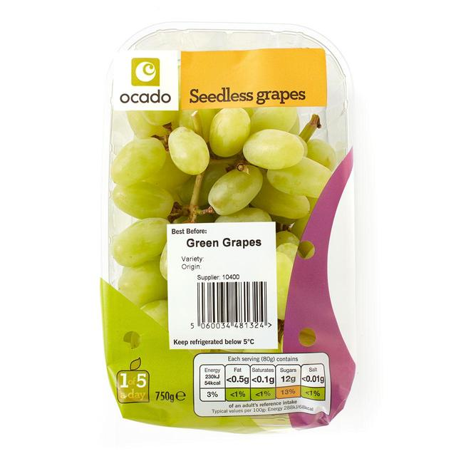 Ocado Green Seedless Grapes