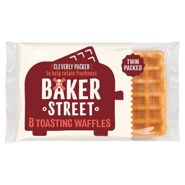 Baker Street 8 Toasting Waffles | Ocado