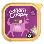 Edgard & Cooper Adult Grain Free Wet Cat Food with Poultry & Game