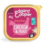 Edgard & Cooper Kitten Grain Free Wet Cat Food with Chicken & ASC Trout