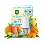 Air Wick Electrical Plug In Kit Gadget & Refill Pure Island Mango