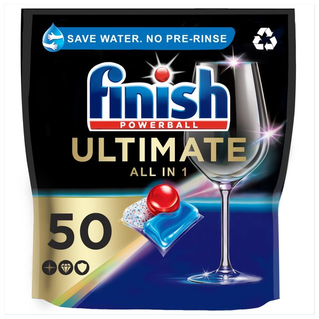 Finish Quantum Ultimate Dishwasher Tablets Original Scent