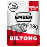 Ember Snacks Chilli Flavour Beef Biltong