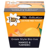 Tims Dairy The London Collection Mango & Turmeric Yoghurt