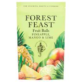 Forest Feast Pineapple Mango & Lime Fruit Balls