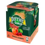 Perrier & Juice Sparkling Peach & Cherry Water