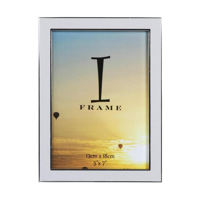 iFrame Silverplated Frame Grey Epoxy Insert 5