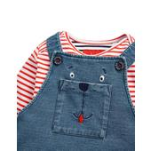 Joules Dungaree Set, Bear