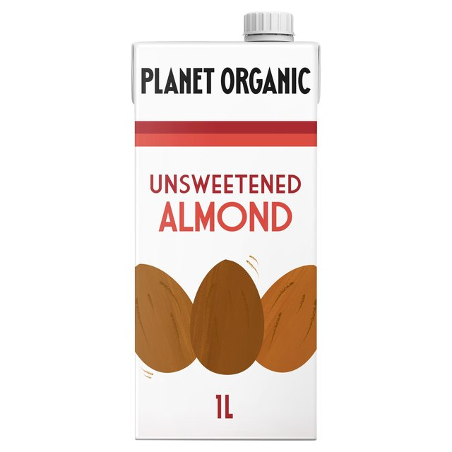 Planet Organic Unsweetened 6% Almond Drink