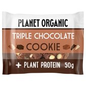 Planet Organic Triple Chocolate Protein Cookie