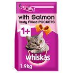 WHISKAS 1+ Cat Complete Dry with Salmon