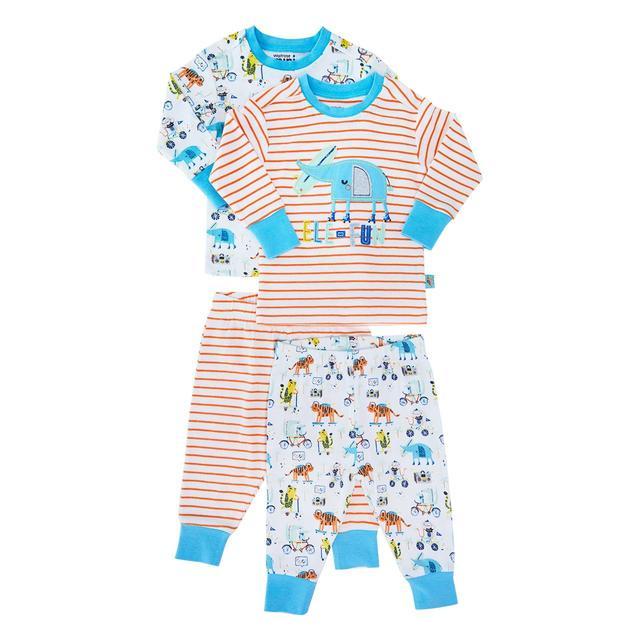d7b0bc108 Waitrose Mini Elefun Pyjamas 2 pack