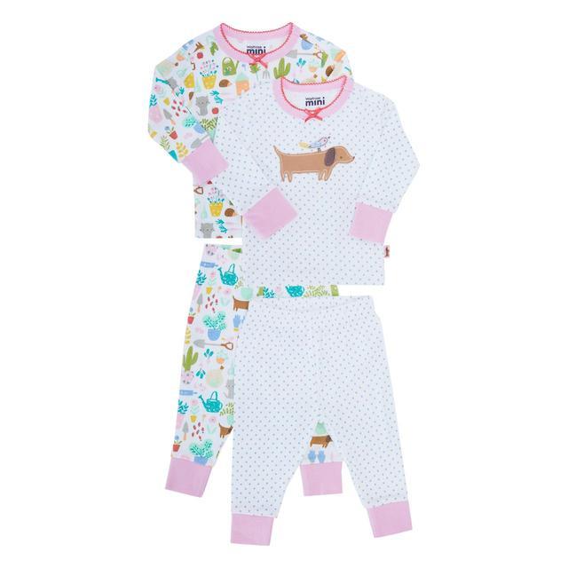 b5584b21d Waitrose Mini Secret Garden Sausage Dog Pyjamas