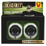 Deadfast Mini Pro Rat and Mouse Sonic Repeller, Twin Pack