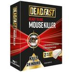 Deadfast Ready to Use Pre-Baited Mouse Killer Bait Station, Twin Pack