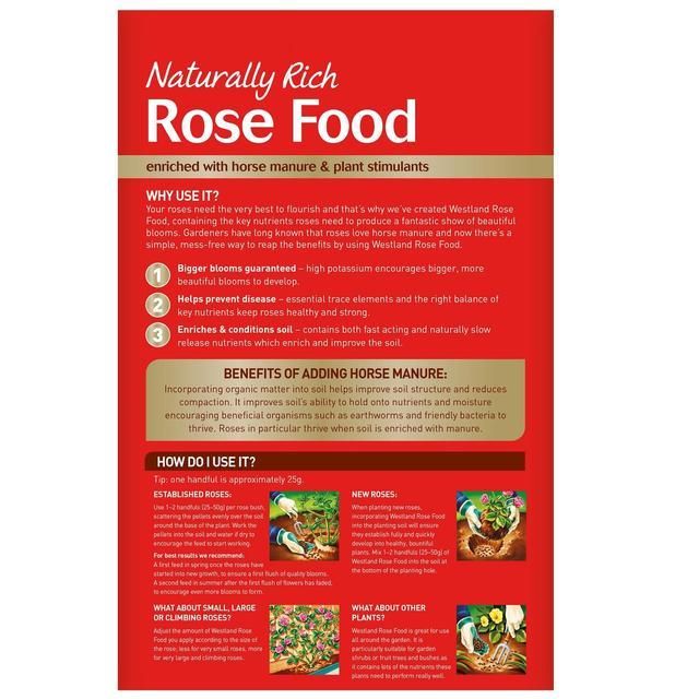 Westland Horse Manure & Plant Stimulant Enriched Rose Food