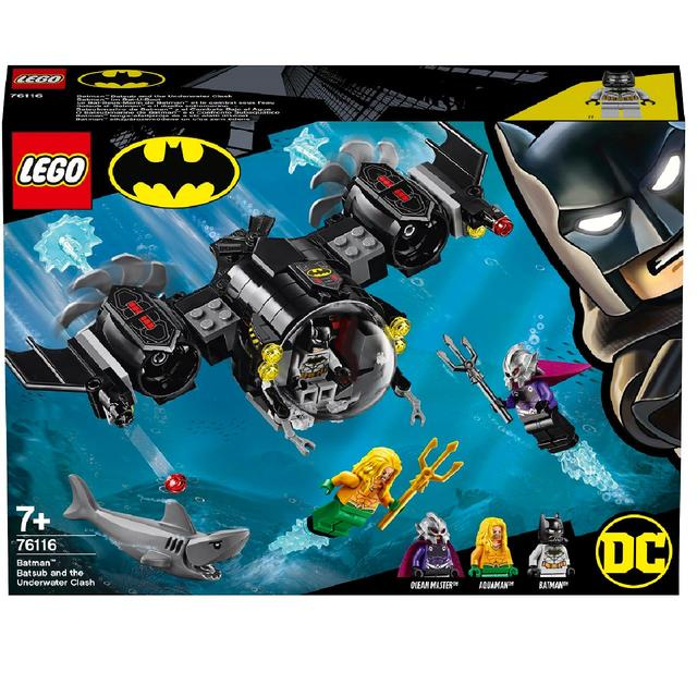 Lego Super Heroes DC Batman Bat Sub /& the Underwater Clash 76116