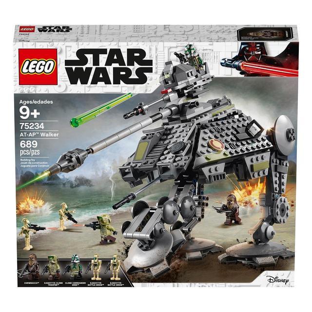 Lego Star Wars 75234 Imperial  AT-AP Walker /& Clone Trooper Chewbacca Vs Droids