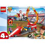 LEGO Juniors Toy Story 4 Duke Caboom's Stunt Show Playset, 4+