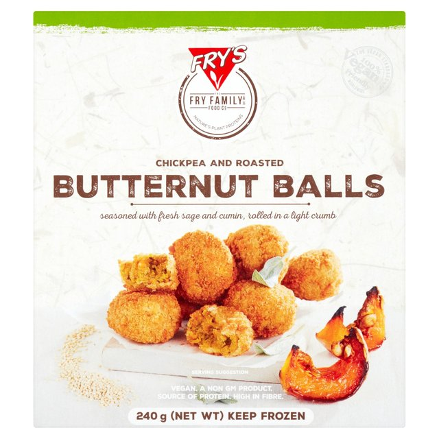 Fry's Family Foods Chickpea and Roasted Butternut Balls